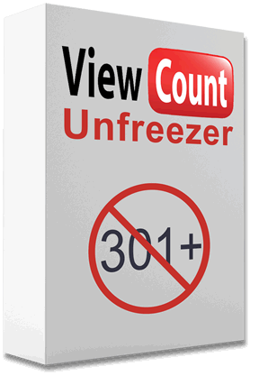 unfreeze YouTube views