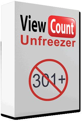 unfreeze YouTube views