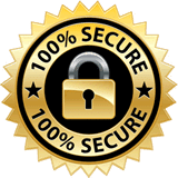 100% Secure SSL Checkout Badge