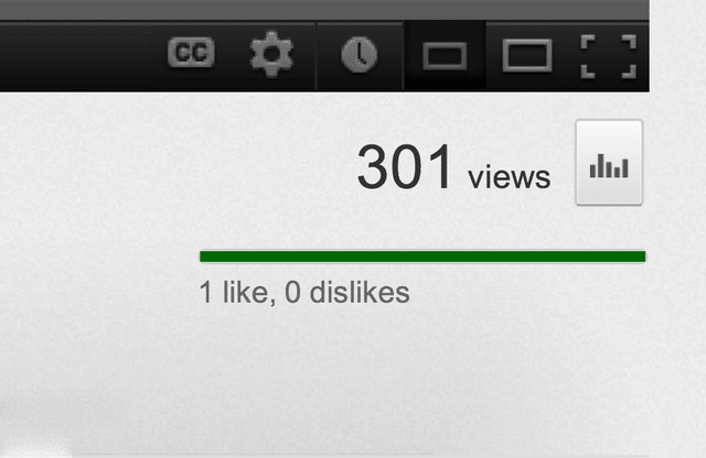 301 YouTube Views