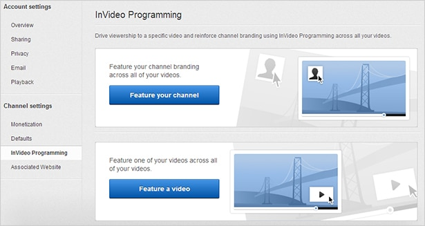 YouTube Invideo Programming